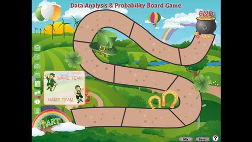 Data Analysis & Probability: Board Game - MAC Gr. 6-8