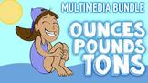 Ounces, Pounds, Tons Multimedia Unit: Customary Measuremen