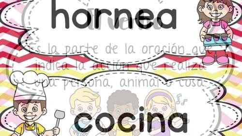 Los verbos/Verbs (Spanish)