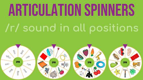 /r/ Articulation Spinners - /r/ In All Positions