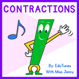 Contractions Video + Lyrics and Activity