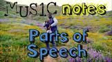 Parts of Speech Song (Nouns, Pronouns, Adjectives, Verbs,