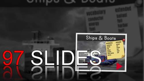 ⭐Ships & Boats Powerpoint ❘ Physical Science ❘ Printables ❘ STEM Activity
