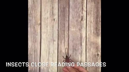 Science Close Reading Brochures -BUNDLE