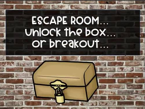 Escape the Music Room (Vanishing Violin) - An Unlock the Box Activity Set