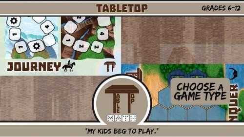 TableTop Math -- Matrix Algebra -- Game-Based Small Group Practice