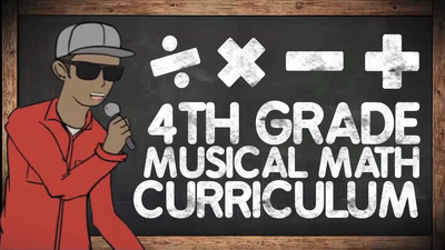 4th Grade Musical Math Centers Curriculum: With Worksheets, Games & Activities