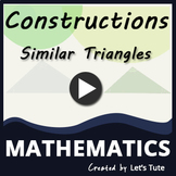 Mathematics  Construction of Similar Triangles