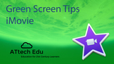 Green Screen with iMovie