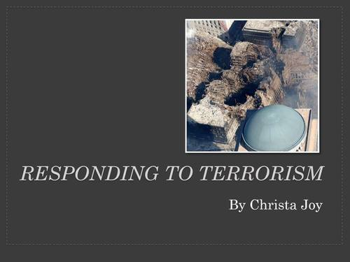 Responding to Terrorism in the US Current Events Unit for Special Education