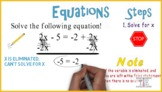 Equations (No Solution): Whiteboard Animation