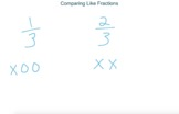 Visual Fractions - Comparing Fractions