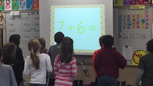 Addition & Subtraction to 20 Math Facts Fluency & Fitness Brain Breaks