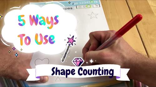 Count the Shapes - Count and Color the shapes