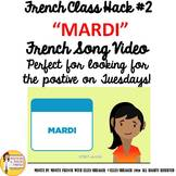 "French Class Transition Video ""Tuesday"" for CI TPRS and 90"