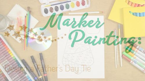 Design a Father's Day Tie Game for Dad | Art Sub Plans and Bulletin Board Ideas
