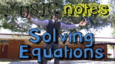 Solving Equations Song