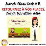 "15 French Class Transition Video ""Return to Your Seat"" for"