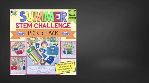 Summer / End of the Year STEM Challenge: Pick and Pack