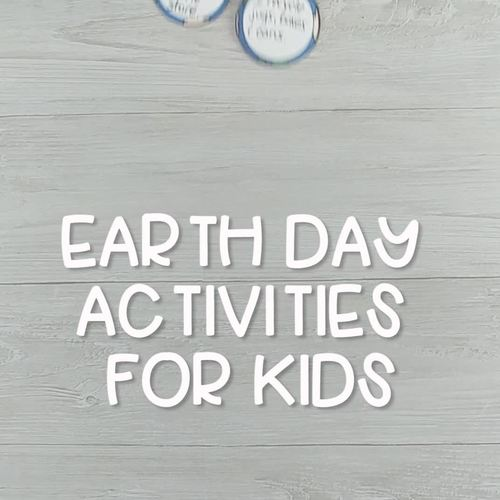 Earth Day Activities Environment Science Unit