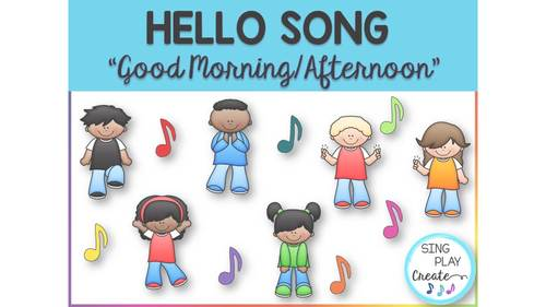 """Music Class Hello Song: """"Good Morning To You"""" (Afternoon) Video Mp3"""