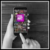 Type Art Animated Text Video App Tutorial