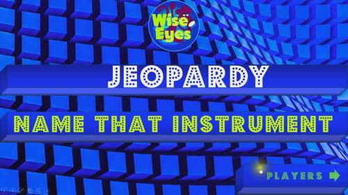 Jeopardy - Name That Instrument - Game - Sounds & Pictures