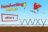Handwriting Heroes Video: Skiers