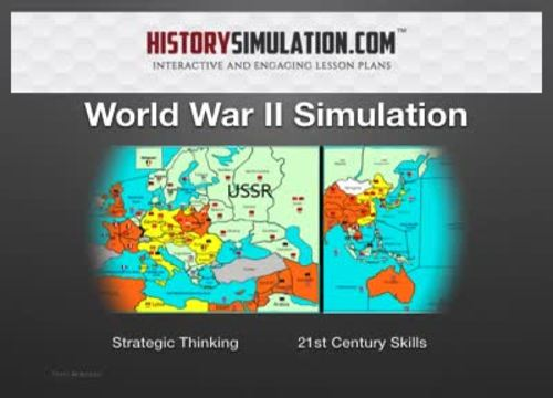 WW2 Online Simulation 1 year Subscription