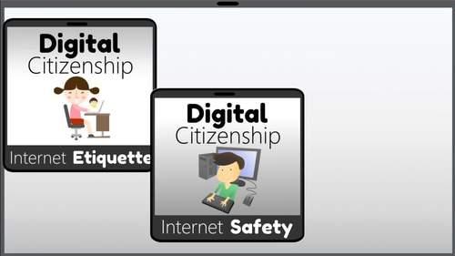 Digital Citizenship Interactive PowerPoint Bundle
