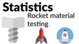 Statistics - Rocket material testing [Grades 4, 5, 6]