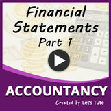 Accounts  Financial Statements  Part 1
