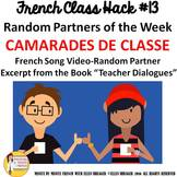 "13 French Class Transition Video ""Random Partners"" for CI"