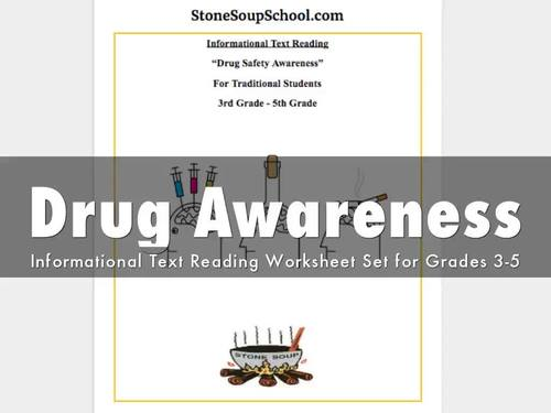 G 3 - 5 Drug Safety Awareness for Traditional Students