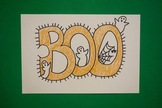 Let's Draw a Boo Banner 4 Halloween!
