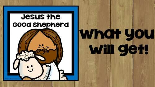 Jesus The Good Shepherd 20% Off First 24 Hours