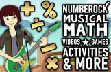 NUMBEROCK Musical Math Centers: Curriculum w/ Games, Video