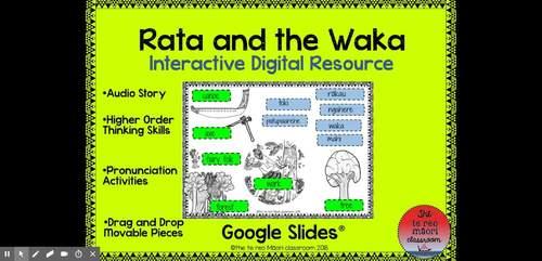 Rata and the Waka Bundle-Digital Interactive Resource (Plus more)