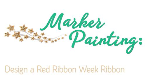 Design a Drug-Free Ribbon Game | Red Ribbon Week Activities and Art Sub Plans
