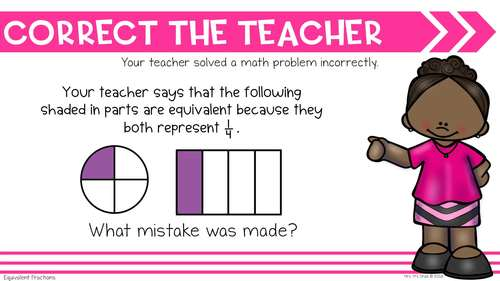 Math Warm Ups for Fractions