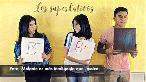 Video for the Spanish Superlativo El superlativo