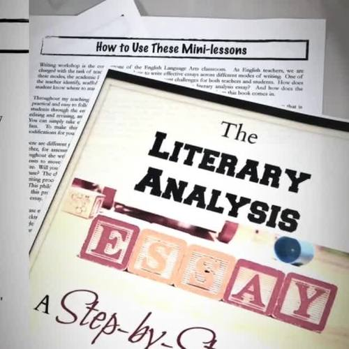 MEGA BUNDLE:  The Literary Analysis Essay Guide in 20 Mini-lessons