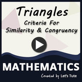 Mathematics  Criteria for similarity and Congruency (Geometry)