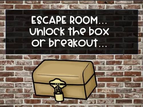 Escape the Music Room (Peter & the Wandering Wolf) - Unlock the Box Breakout Set