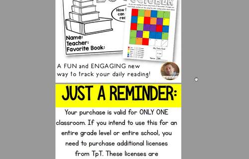 Color It: A NEW Take on the Daily Reading Log: Grades 2-6