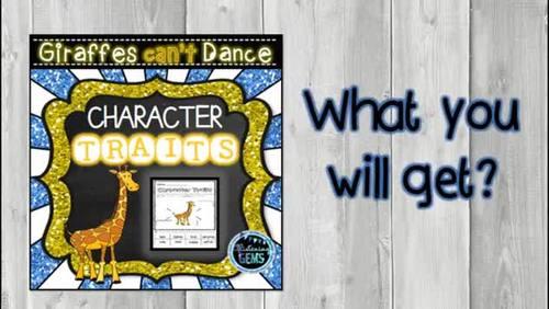 Giraffes Can't Dance Character Traits