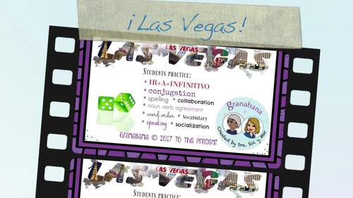 PRETÉRITO REGULAR -AR Takes LAS VEGAS * a Speaking & Writing Practice Activity