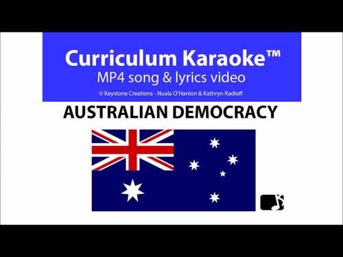 'AUSTRALIAN DEMOCRACY' ~ MP4 Curriculum Karaoke™ READ, SING & LEARN key facts