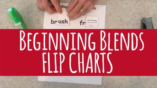 Flip Charts for Beginning Blends