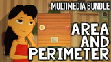 Area and Perimeter Video, Game, Word Problems & Other Activities
